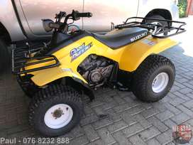 SUZUKI LT 160 QUADRUNNER - WANTED