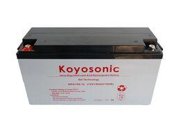 Akumulator Żelowy Koyosonic NPG150Ah silnik łódka solar