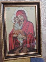 Продам икону Божьей Матери Почаевская. Ручная работа!