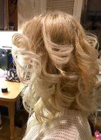 Завивка ,укладка волос .