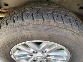 Hilux Rims with Tyres