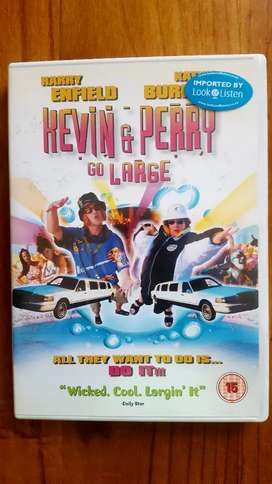 Kevin & Perry Go Large Original Imported Dvd