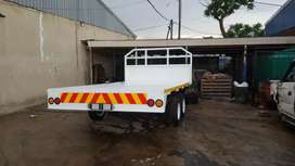 Double axle Trailer for sale