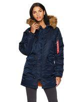 Зимняя женская куртка аляска N-3B W Parka Alpha Industries