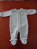 pajacyk ocieplany niemowlęcy (wiosna - jesień)