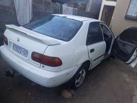Honda ballade for sale as it is or parts
