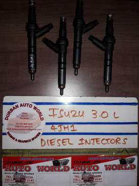 Isuzu 3.0L 4JH1 Diesel Injectors For Sale