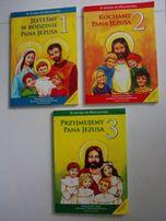 Podręcznik do religii dla kl 1, 2 i 3 szkoły podstawowej, wydaw WAM