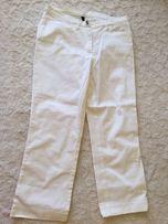 Białe jeansy 3/4 r.34