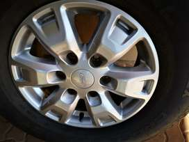 Ford Ranger 16inch mags and tyres