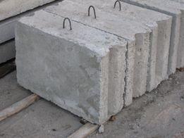 Блоки фундаментные, плиты перекрытия, кольца ЖБИ