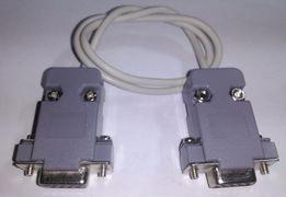"""Нуль-модемный кабель RS232, """"мама-мама"""" ."""
