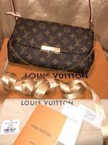 Сумка клатч Луи Витон. Louis Vuitton Клатч Louis Vuitton Favori
