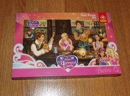 puzzle Barbie 100 stan idealny