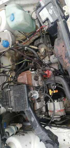 Entire Engine ,1.8 Carbarator & Gearbox of Golf 2 -1992 Model .