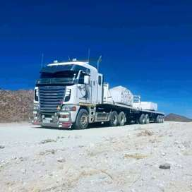 Truck driver available