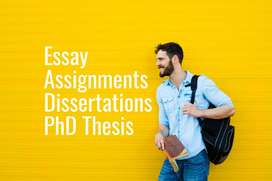 Assignment Writing and Editing Help - Thesis Essay PhD Research