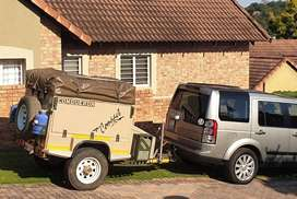 Conqueror Compact Off road trailer - Go anywhere you want!