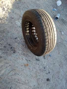 SPARE TYRE SIZE 195/65R15 VERY GOOD CONDITIONS