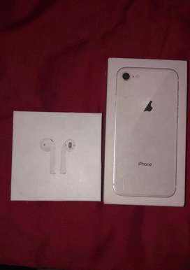 Apple airpods +iphone 8 swap for iphone x/xr