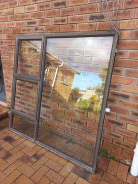 Aluminium Window 2 Vents FOR SALE - (1500 x 1500mm)-REDUCED