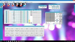 Gotowe Sceny FRACTAL MINI LED GOBO SPOT 10W dla 6 szt Frestyler DMX