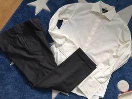 Elegancka koszula spodnie xl