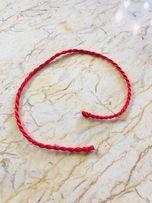 Красная плетёная нить из Иерусалима.