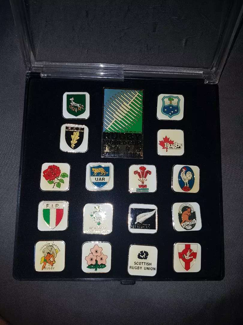 1995 rugby world cup memorabilia 0
