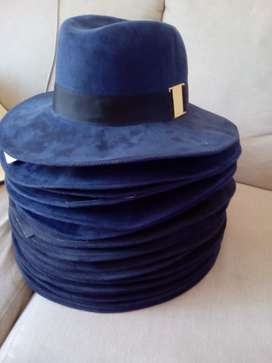 PRINGLE  OF SCOLAND SUEDE HAT-BRAND NEW WITH TAGS