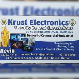 We specialize in :  cctv  access control  electric fence gate auto
