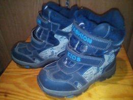 Обувь детская зимняя, ботинки - сапожки 19см стелька
