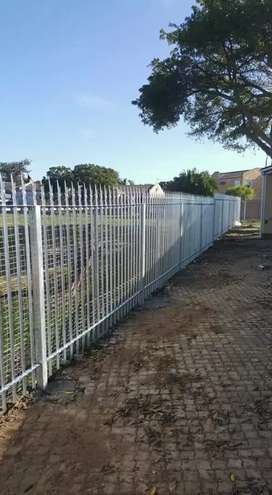 fencing and all steel works