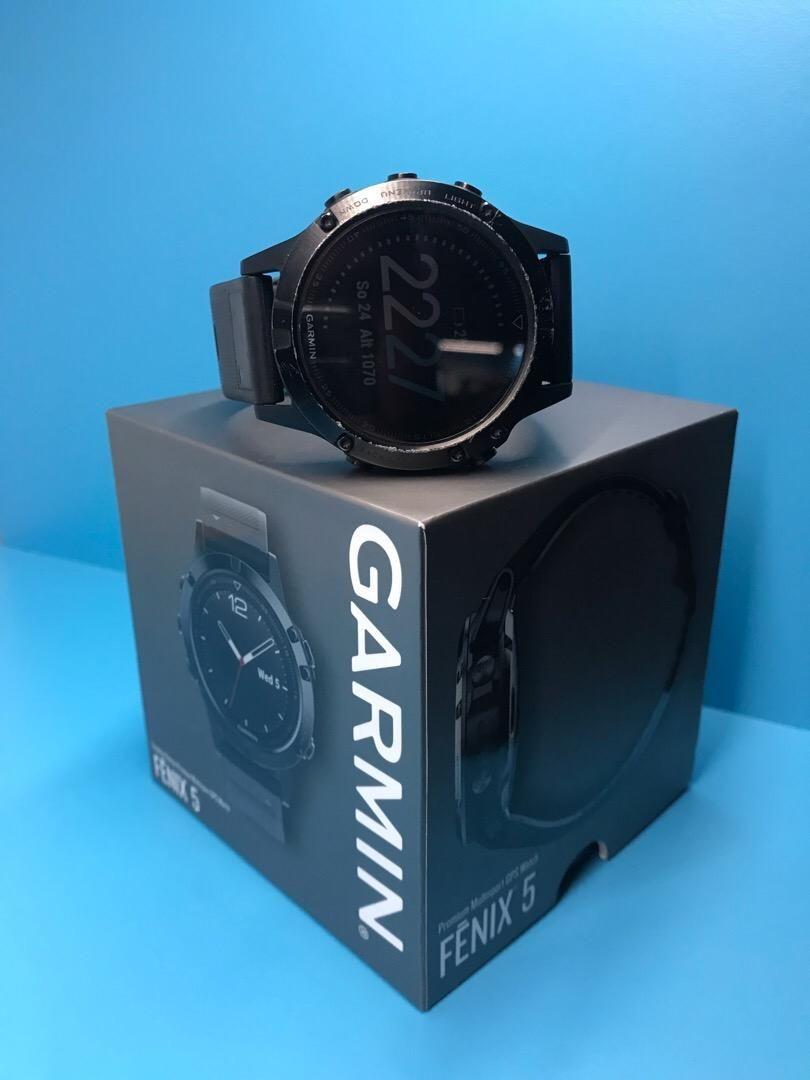 Garmin fenix 5 sapphire black optic 0