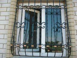 Решётки на окна за 3 дня Двери входные металлические лестницы навесы
