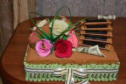 торти з цукерок