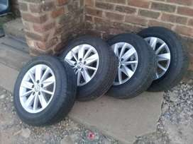 golf7 tyres and mags