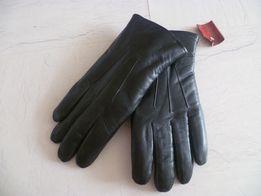 Перчатки кожаные мужские демисезонные