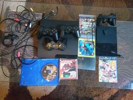 PS3(PLAYSTATION 3) WITH FREE PS2