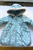 Демисезонная куртка на девочку, 1-2 года, рост 86-92 см.