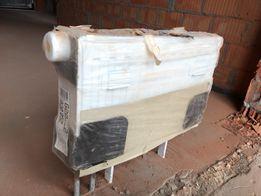 Компактный радиатор 30х52см., глубина - 10,5см. Нижнее боковое подключ