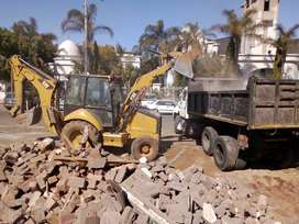 Rubble removals and site clearance services