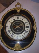 Часы настенные ЯНТАРЬ Знак качества Сделано в СССР ВИНТАЖ