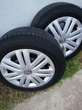 Polo tyres and rims