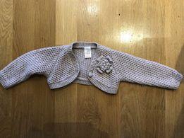 Narzutka sweterek ZARA 9-12 m-cy