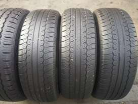A set of 215/70/16 tyres