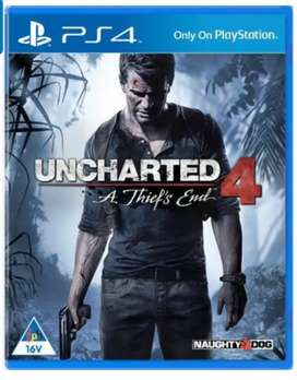 Uncharted 4 ps4 game R200