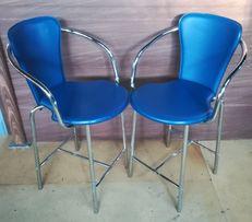 Komplet 2 krzesła i stół do kuchni lub na taras