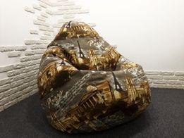 Бескаркасная мебель кресло мешок кресло груша от производителя Киев