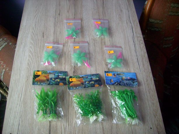 Rośliny sztuczne do akwarium Nowe Czersk - image 1